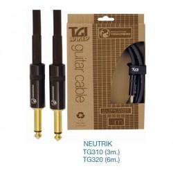 """Cables para Guitarra """"TGI"""""""