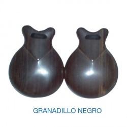 Castañuelas GRANADILLO NEGRO nº6