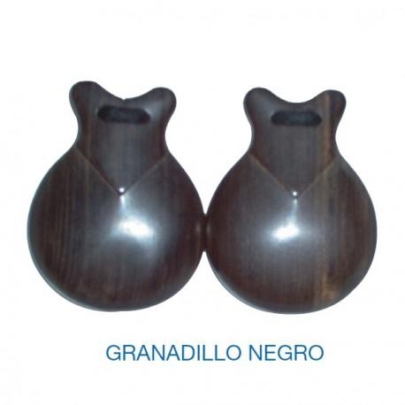 Castañuelas GRANADILLO NEGRO nº7