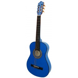 """Guitarra """"ROCIO"""" C6N (1/4) Cadete 75 cms AZUL"""