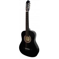 "Guitarra ""ROCIO"" C7N (1/2) Cadete 85 cms NEGRO"