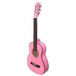 "Guitarra ""ROCIO"" C7N (1/2) Cadete 85 cms ROSA"