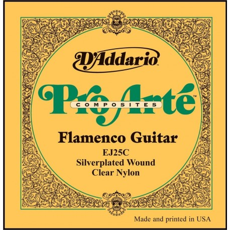 D´Addario Clásica Flamenco EJ25-C