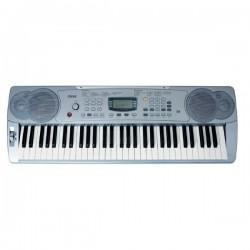 TECLADO ELECTRONICO RINGWAY CK68 5 OCTAVAS MIDI 61 TECLAS SENSITIVAS CON ADAPTADOR