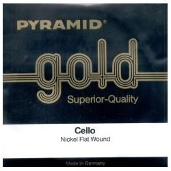 CUERDAS CELLO PYRAMID GOLD