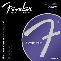 CUERDAS BAJO FENDER 045-100 7350M