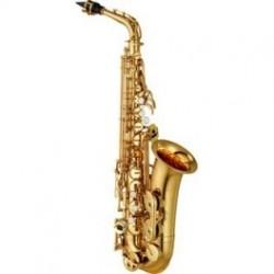 Saxofon alto Mib. Yamaha YAS480 lacado estudio avanzado con estuche