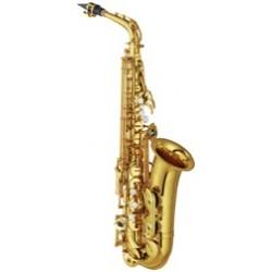 Saxofon alto Mib. Yamaha YAS62 lacado profesional con estuche
