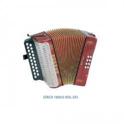 HOHNER Erica 1600/2 SOL-DO