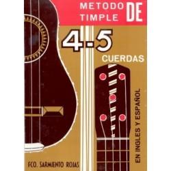 METODO TIMPLE CANARIO PAR 4 Y 5 CUERDAS