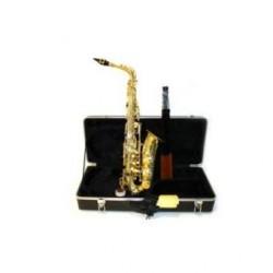 Saxofon alto Mib. Roy benson AS202K negro con estuche mochila