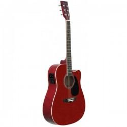 Guitarra Acustica DAYTONA 411CERD electrificada y afinador