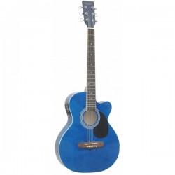 Guitarra Acustica DAYTONA 401CEBL elect. con afinador