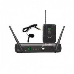 SISTEMA VHF MICROFONÍA INALÁMBRICA VHF-18 Sistema Lavalier completo