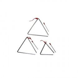 Triángulos jinbao 15-20 Y 25 cms. golpeador
