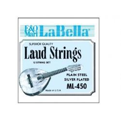 """Cuerda """"LA BELLA"""" LAUD-JGO."""