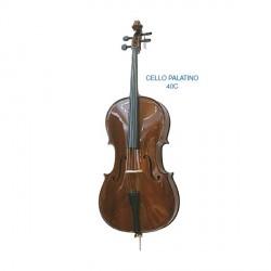 "Cello ""PALATINO"" estudio Mod. 40C tapa abeto macizo completo arco y funda"